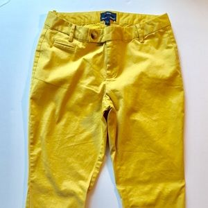 "Like New! ""Aubrey"" Size 4 GAP Mustard Chinos"